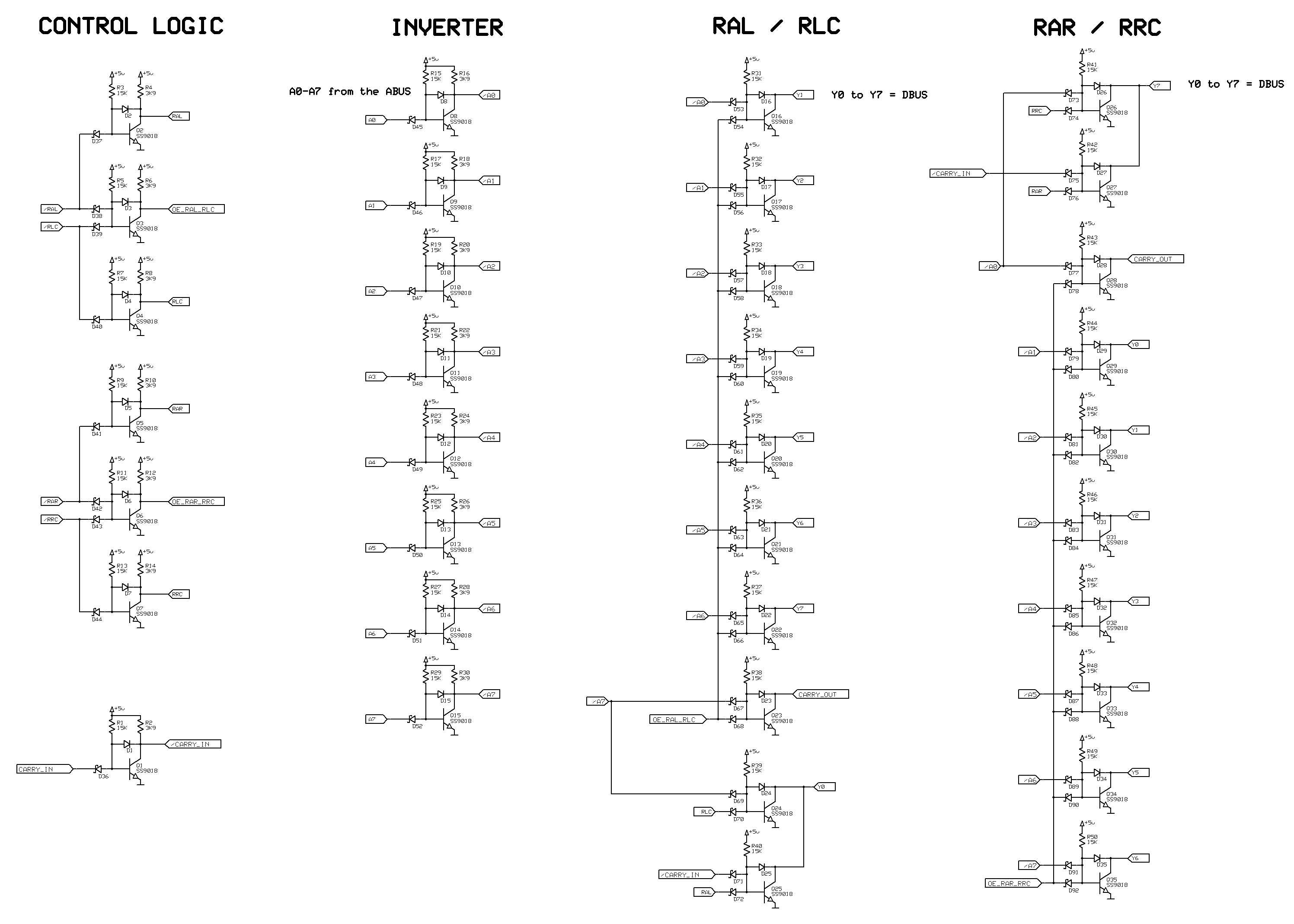 alu  beautiful bit alu logic diagram wiring diagram